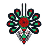Polski folklor - wzór, parzenica - 184547563