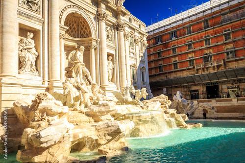 Foto op Canvas Rome Fontana di Trevi