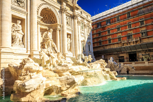 Tuinposter Rome Fontana di Trevi