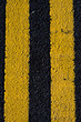 Double Yellow Line Road Marking No Parking or Traffic Waiting Zone