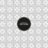 Hand Drawn Seamless Pattern black-white