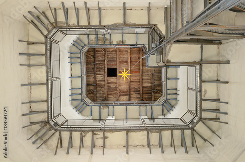Foto op Plexiglas Kiev Inside of the belfry of the Saint Sophia Cathedral in Kyiv