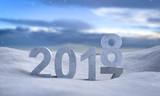2018 Jahreswechsel im Schnee - 184571522