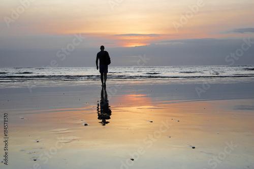 Foto op Plexiglas Bali Sunset in Bali