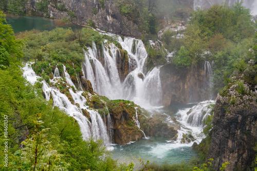 Waterfall, Plitvice National Park Croatia