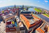 Panoramablick über Dresden, Deutschland - 184604757