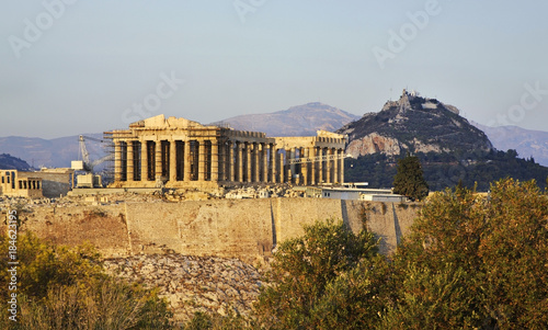 Staande foto Athene Parthenon. Acropolis of Athens. Greece