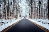 winter strasse - 184623908