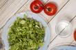 Healthy letucce salad