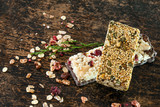 granola bar on the table - 184656546