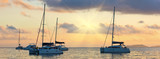Recreational Yachts at the Indian Ocean - 184658997
