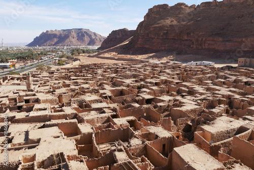 Tuinposter Beige Al Ula Old Town West Saudi Arabia