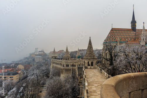 In de dag Praag Budapest Matthias Chruch