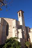 Church of Sant Francesc in Montblanc, Tarragona province, Catalonia, Spain - 184688334