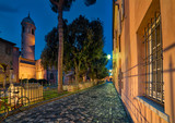 cobbled street in Ravenna - 184690307