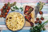 Handmade tandoori Grill Indian food