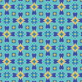 seamless vector  pattern with a fantasy tile