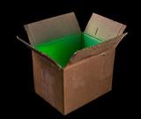 Luminous open box. - 184714185