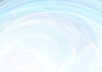 Abstract light blue background with swirl. Subtle vector graphic pattern