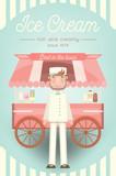 Ice Cream Card - 184740950