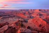 Utah desert sunrise, Moab, Utah, USA.