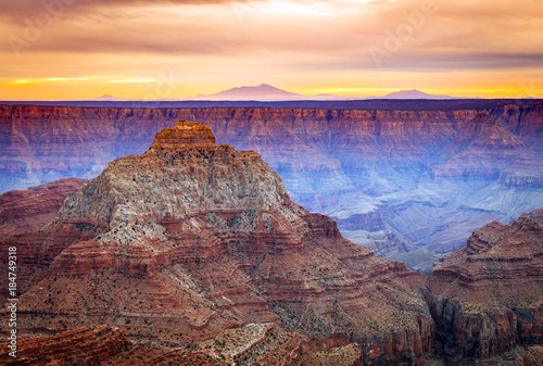 Foto op Aluminium Cappuccino Grand Canyon landscape, Arizona.