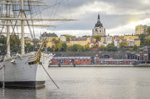 Foto op Canvas Stockholm Stockholm capital city of Sweden