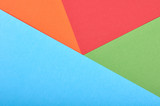 Material design style of color paper. Template for background and web. Vivid colors.