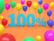 Hundred Percent Concept - 3D Rendered Image