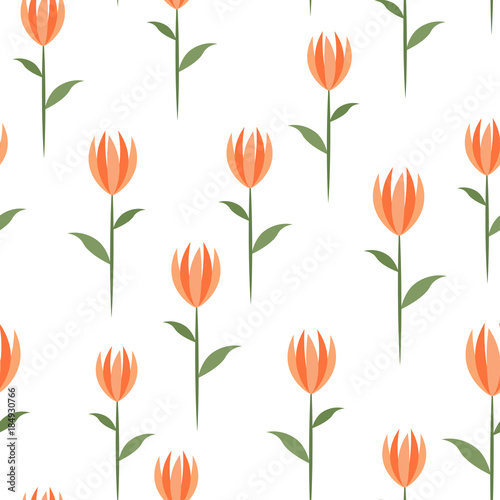 seamless-background-with-tulips