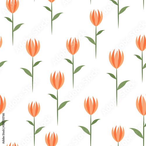 bezszwowe-tlo-z-tulipanow