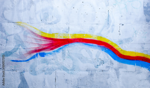 Foto op Canvas Graffiti Graffiti - street art