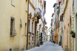 Montepulciano, Tuscany, Italy - characteristic street in the city center