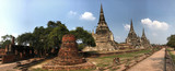 Panorama from the Wat Phra Sri Sanphet