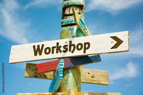 Schild 282 - Workshop