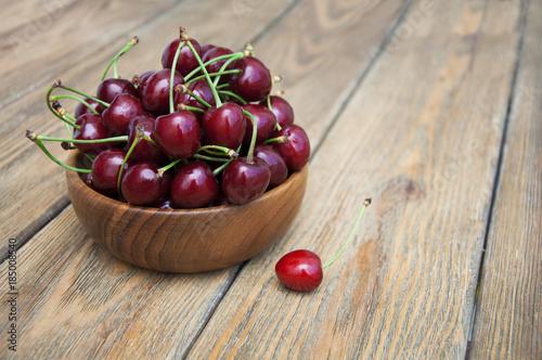 Fotobehang Kersen cherries