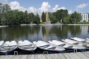 VDNKh, boating station