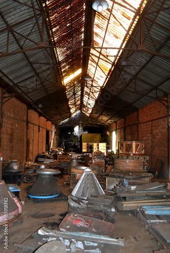 Fotobehang Oude verlaten gebouwen Abandonned industry