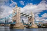 Tower Bridge in London, England, UK
