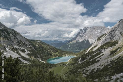 Foto op Canvas Bergen alps #5.