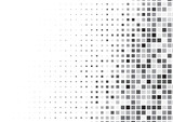 Halftone background made of squares
