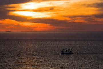 Royal Clipper vor Elba 3