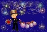 kominarz i Nowy Rok