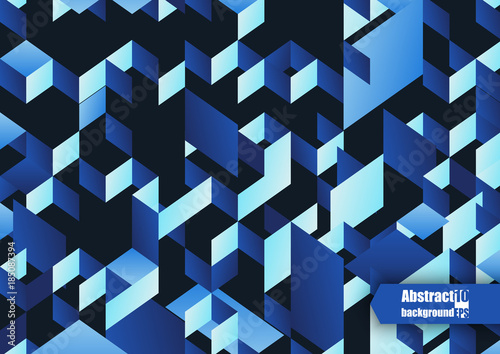 Fotobehang Abstractie Abstract background with geometric pattern. Eps10 Vector illustration