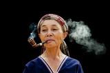 Po Karen Woman Smoking - 185091311