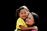 Po Karen Mother and Child - 185091511