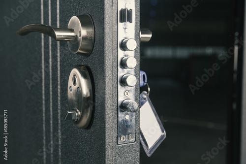 safety lock door Poster