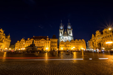 Altstädter Ring in Prag, Tschechische Republik