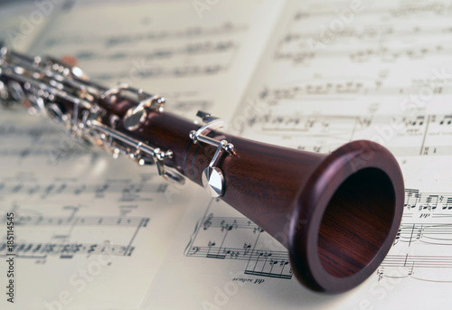 clarinet-on-musical-notes