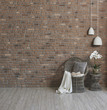 decorative modern living room wicker chair and lamp style